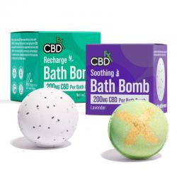 CBDfx Bath Bomb