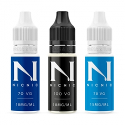 .NicNic 10ml Nicotine Shots