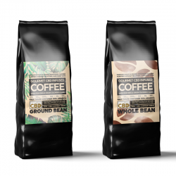 CBD Infused Coffee - 100g...